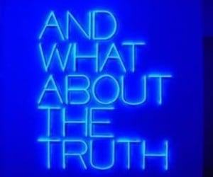 blue, blue aesthetic, and truth image