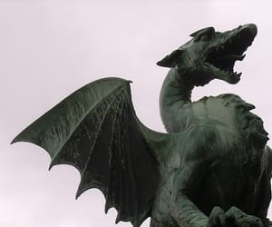 dragon, green, and harry potter image
