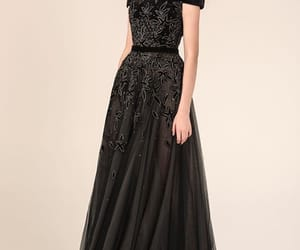 blackdress, Couture, and dresses image