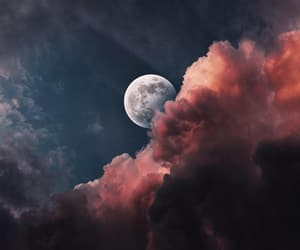 moon and clouds image