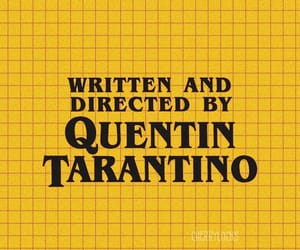 tarantino and aesthetic yellow image