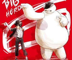disney, hiro, and micheal jackson image
