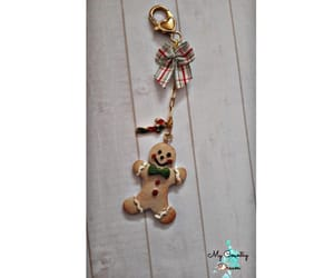 christmas, gingerbread, and embellishments image