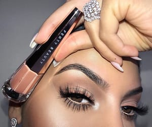 beauty, eye makeup, and girls image
