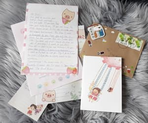 friend, gift, and Letter image