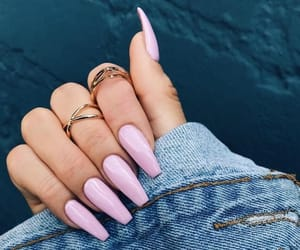 accessoires, gold, and nail image