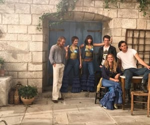 mamma mia, lily james, and Greece image