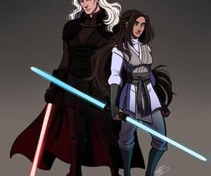 star wars, house stark, and silver prince image