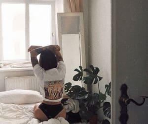 fashion, bedroom, and tumblr image
