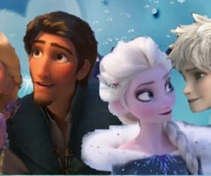 anna, merida, and hiccup image