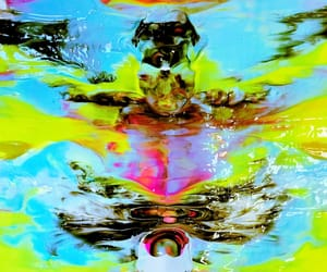 abstract, bright, and color image