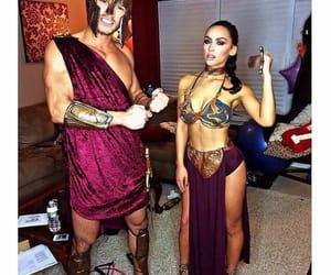Halloween, couple, and carli bybel image