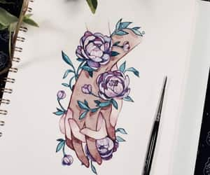 drawing, aesthetic, and art image