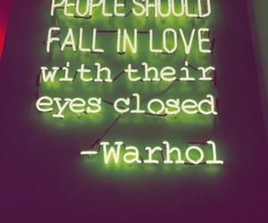 quotes, love, and warhol image