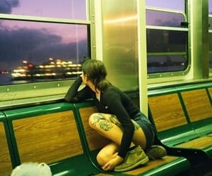train, photography, and tattoo image