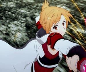 anime, kirito, and anime girl image