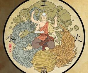 avatar, aang, and art image