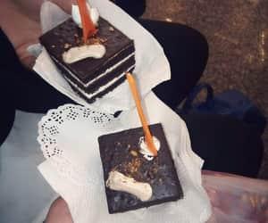 cake, chocolat, and girls image