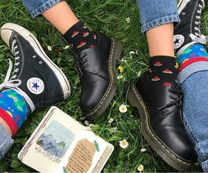aesthetic, converse, and doc martens image