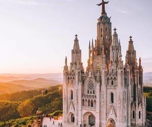 Barcelona and travel image
