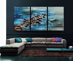 Abstract Painting, Oil Painting, and painting image