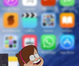 wallpaper, iphone, and mabel image
