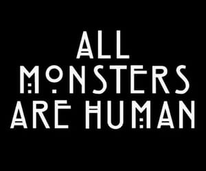 ahs, american horror story, and monster image