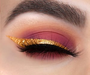 eyeliner, make-up, and eye look image