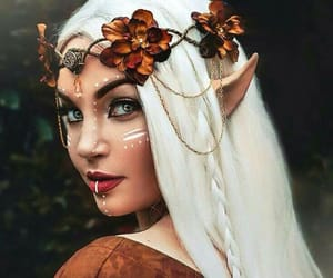 fantasy, Halloween, and makeup image
