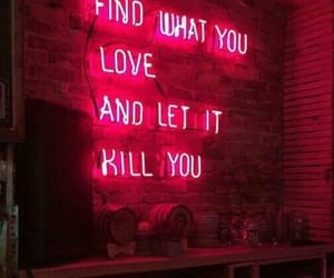 neon, love, and quotes image