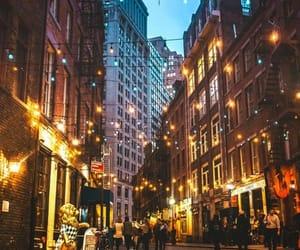 city, lights, and life image