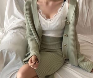 chic, classy, and green tea image