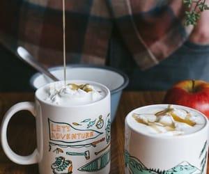 autumn, coffee, and caramel image