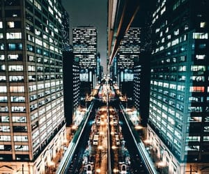 cities, city, and lights image