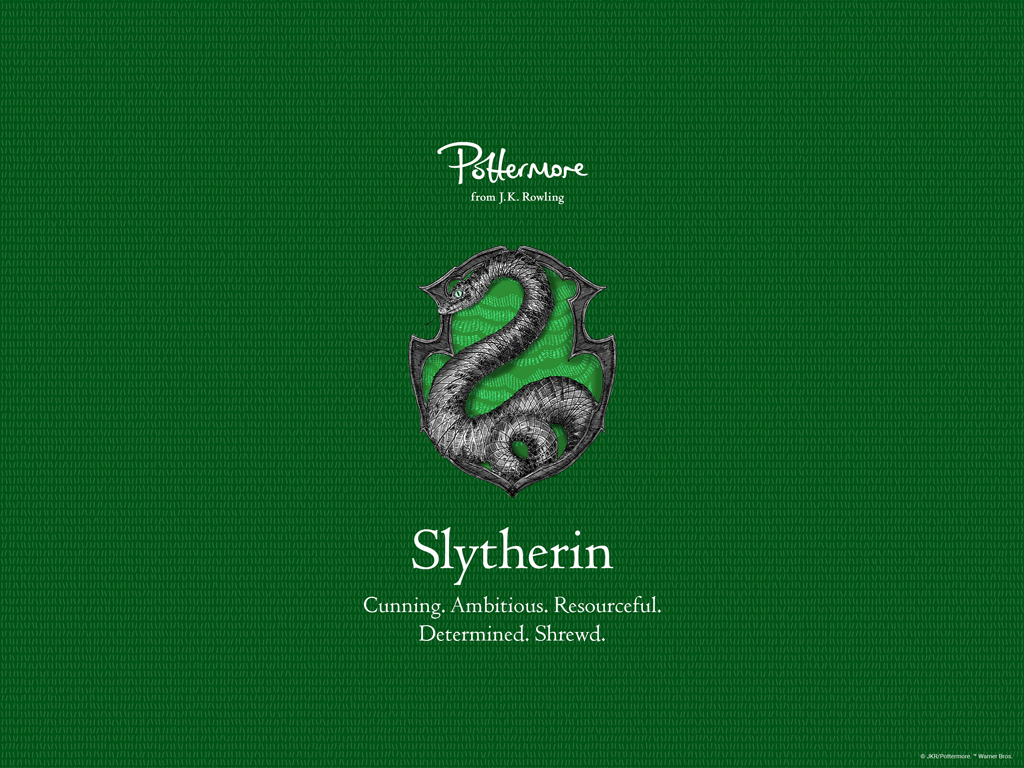 Wallpaper Slytherin From Pottermore Discovered By