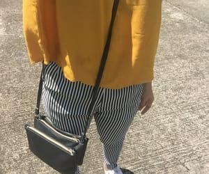ju, stripes, and yellow image