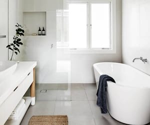 bathroom, bath, and interior image