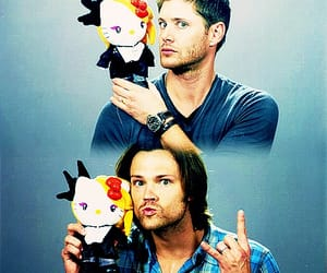 dean winchester, Jensen Ackles, and sam winchester image