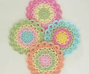 colores, crochet, and diy image