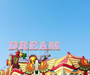 Dream, candyminimalism, and amusement park image