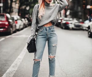 bag, blondie, and fashion image