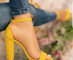 fashion, sandals, and garden image