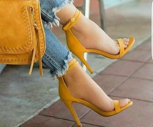 bag, fashion, and sandals image