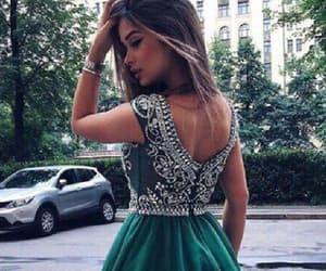 a-line prom dress, prom dress short, and homecoming dress 2018 image