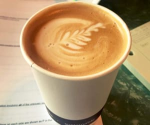 coffee, coffee shop, and college image