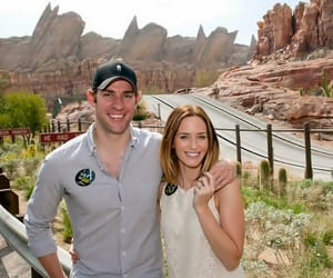 Emily Blunt, happiness, and couple goals image