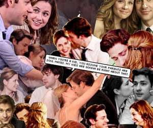couple, couples, and jenna fischer image