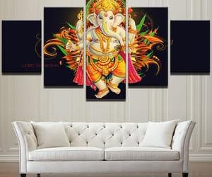 decor, home, and Ganesh image