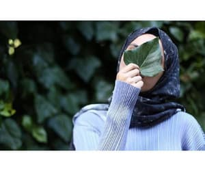girl, hijab, and girly image