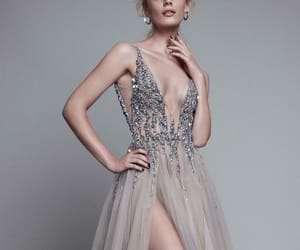 dress, beautiful, and model image